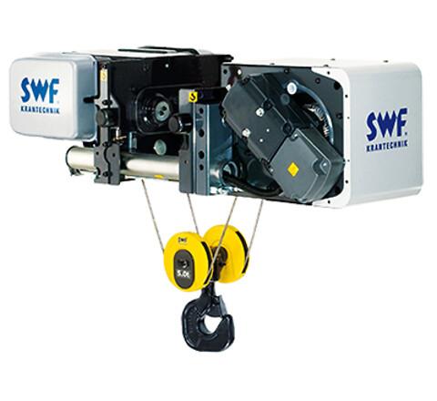 Kvalitets el-wiretaljer  - SWF el-wiretaljer, kvalitets wire rope hoists.