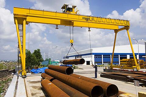 Portalkranar EVPE, ZVPE upp till 50 ton