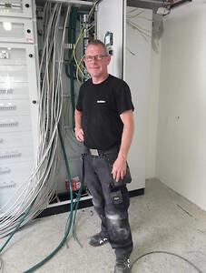 Elektriker Ole Gregers Jensen EL:CON 25 års jubilæum