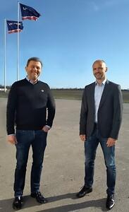Direktørskifte i Uretek - Kent Steffensen (t.v.) og Lars Erik Nielsen (t.h.)
