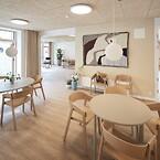 Fribo Holte, Skovly Fribo Holte, plejehjemsbyggeri i Skovly Vænge. Projektet er udført i Totalentreprise af JFP.