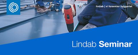 Lindab Seminar - lær alt om vores byggeprodukter