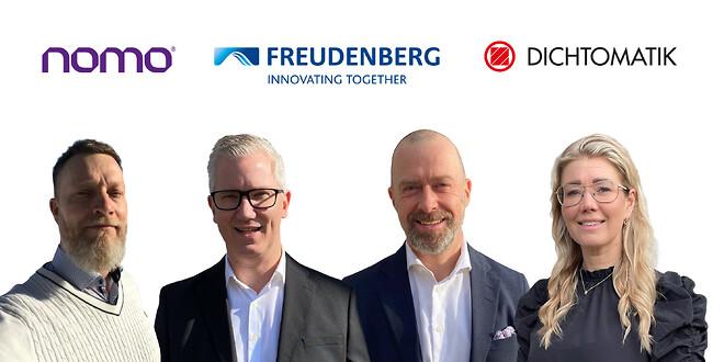 Nomo starter partnerskab med Freudenberg Sealing Tech