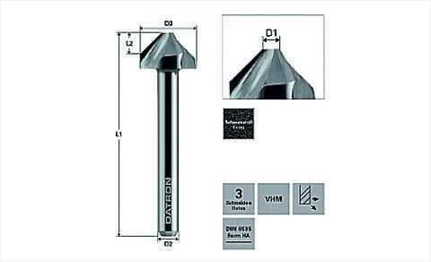 DATRON försänkare för PU skum / Countersink för PU skum - DATRON \nForsænkere\n for PU skum  Countersink \nPU foam\nFörsänkare\nPU skum\nskumfräs\nCNC\nfräsverktyg\nCNC-verktyg