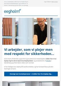 Eegholm nyhedsbrev marts 2020
