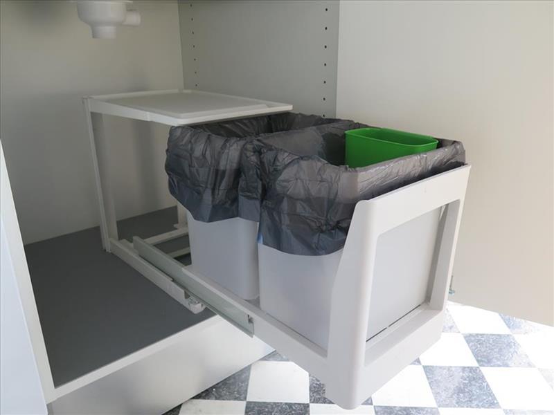 køkken affaldssystem