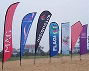 Beachflag fra Signmanager