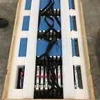 Clip-Lok engångsförpackning för batterier