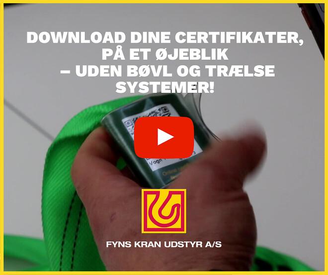 Download Dine Certifikater, På Et Øjeblik – Uden Bøvl - Fyns Kran Udstyr