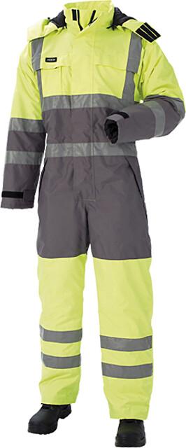 Outlet - termokedeldragt, hi-vis, kl. 3, 11134 - gul/grå