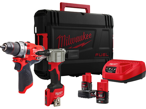 Milwaukee M12 FPP2S-422X POWERPACK