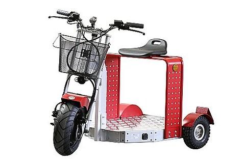 Elektrisk scooter til transport af varer og værktøj - Scooter \neuro scooter\ntransport \nisel\nsolectro