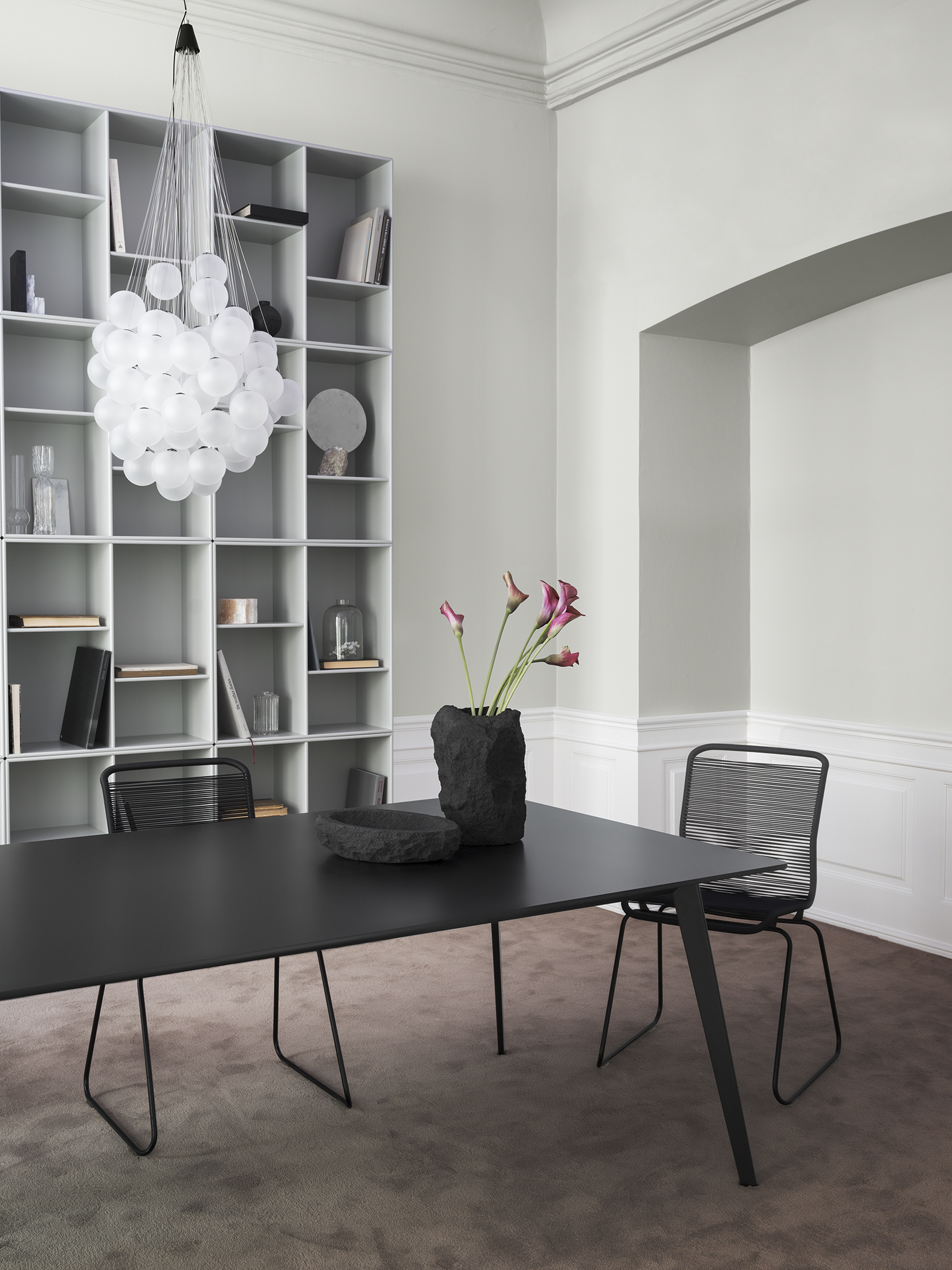 montana and jakob wagner collaborate on table launch. Black Bedroom Furniture Sets. Home Design Ideas