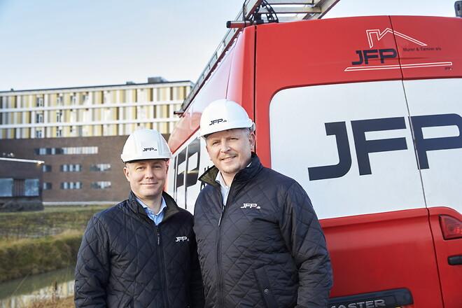 JFP - Murer & Tømrer udvider tømrerafdelingen. Et datterselskab af JFP.