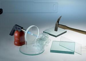 Härdat glas