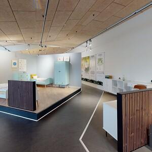 Virtuelt showroom serie GAIA