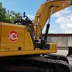 Ny CAT 330 gravemaskine til HCS Miljøentreprise