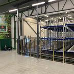 BITO Lagersystem har tillsammans med Riantics A/S levererat en effektiv lagerlösning åt Kiviks Musteri AB.