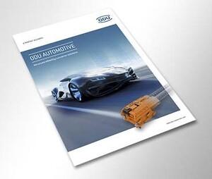 Nye ODU brochure om ladestik og kontaktsystemer til eldrevne køretøjer - emobility og automotive