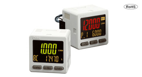 Display med 3 linjer til flowmålere – PFG300-serien
