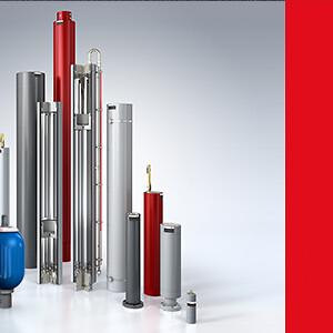 akkumulatorer til næsten alle formål\nstempel, blære og membran akkumulatorer