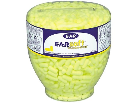 Ørepropper ear soft for dispenser 500 stk/pk - 3M