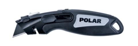 Polar Kniv med sikkerhedsfunktion