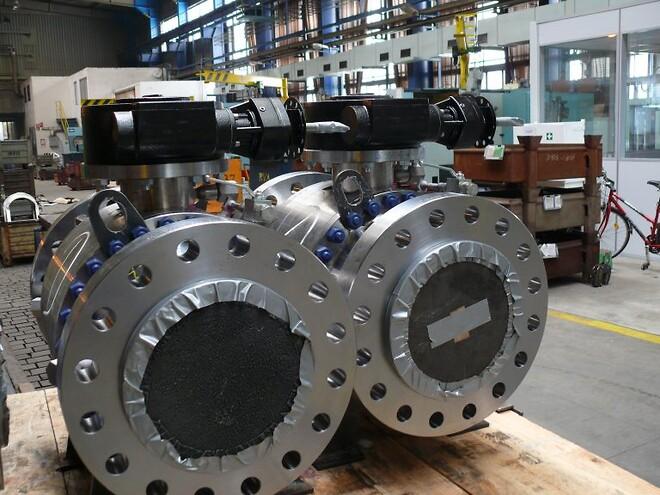Kugleventiler bruges til forskellige applikationer bl.a. inden for olie/gas og fjernvarme.