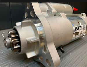 Hos DM Motors A/S leverer vi alt inden for transmissioner, sågar starter motorer som her, hvor en kunde skulle have denne ombord inden de måtte sejle