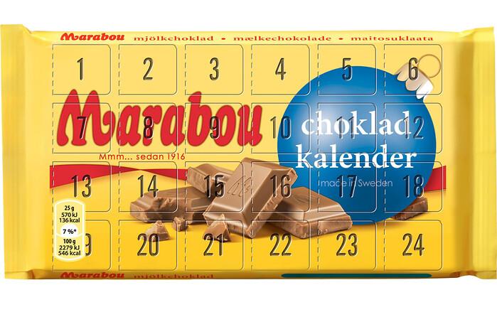 chokladkalender eget foto