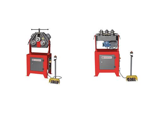 Profilvals med 1 fas 230V motor - B40, maks Ø60mm