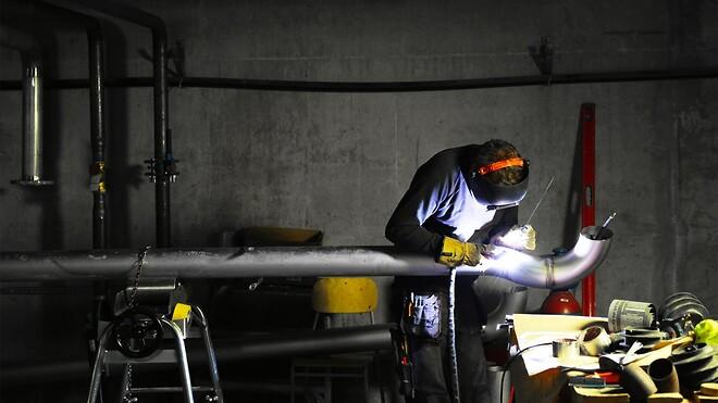 ORAB utför rörmontage vid större etablering i Norrland