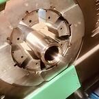 Pressing Super Duplex hose units on hydraulic hose | TESS Denmark