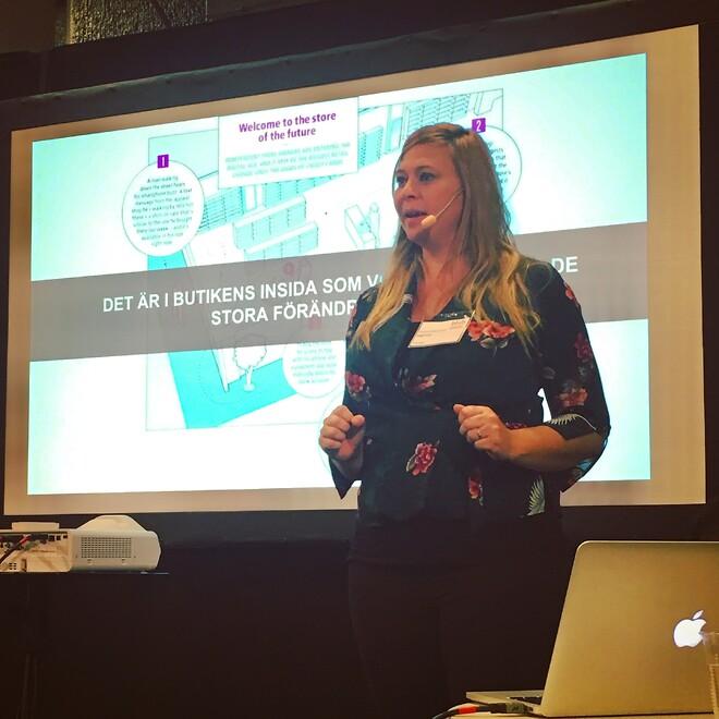 Talare Helena Mattsson från StigFram