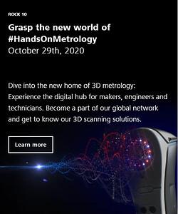 ZEISS Innovation Rocks, HandsOnMetrology, 3D metrology