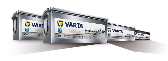 Med upp till sex gånger så långt batteriliv ger VARTA ProMotive AGM reducerad total ägarkostnad