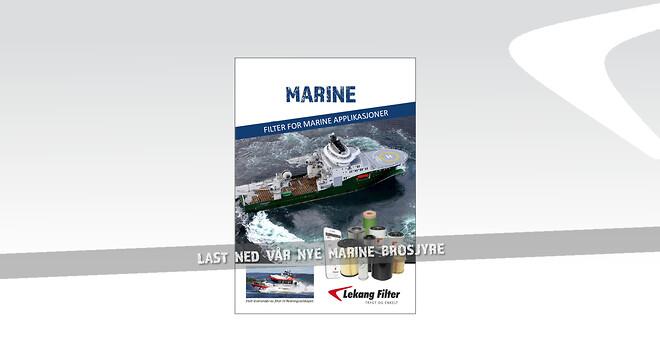 Filter til marine applikasjoner