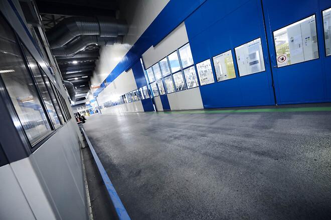 9 m høj MATADOR væg skærmer for både støj og varme