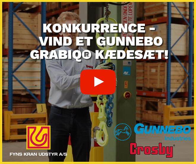 Konkurrence - Vind et Gunnebo GrabiQ® kædesæt!
