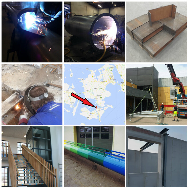 Smede og stålmontage 4840 Nørre Alslev