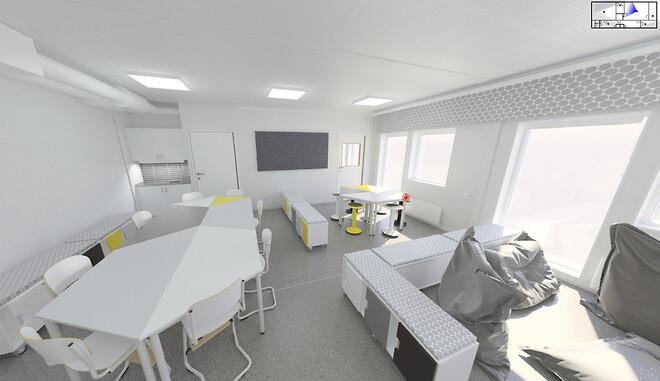 #3D\n#Moduler\n#Pavilloner \n#Skole\n#Kommune\n#Midlertidlig