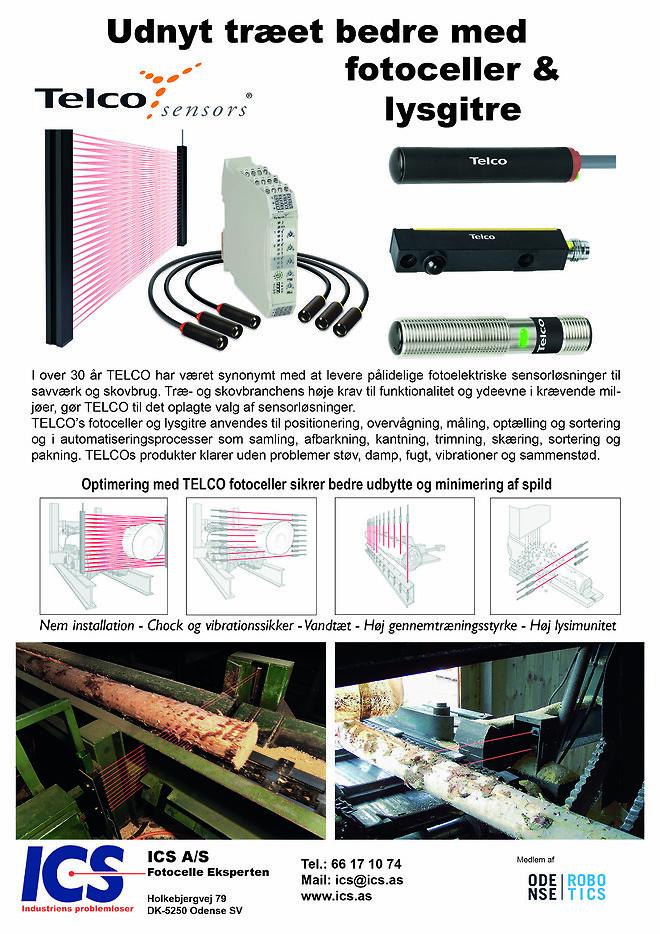 Telco fotoceller træ støv vand snavs