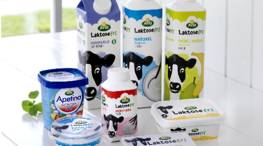 Splinternye Arla vil øge salget på laktosefri produkter - Food Supply DK NO-71