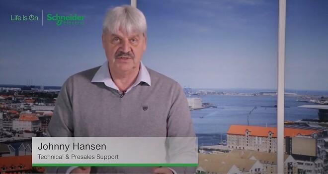 Johnny Hansen taler om fordele, der er ved at levere et godt indeklima til bl.a. medarbejdere, samarbejdspartnere og kunder.
