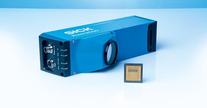 3D streaming-kameraet Ruler3000 med markedets hurtigste CCD chip