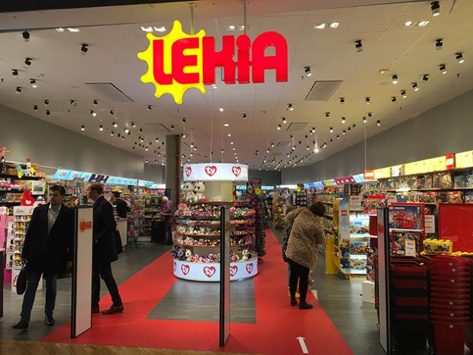557bea879e1 Ännu en tidigare BR-butik blir Lekia när ny butik öppnar i Birsta city.
