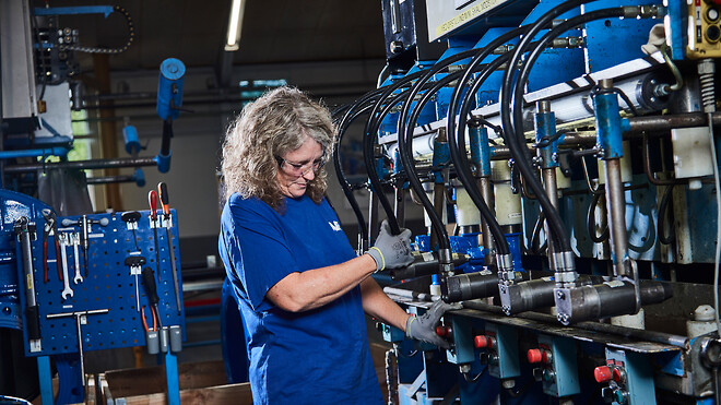 AVK International har moderne produktionsfaciliteter og et sikkert og sundt arbejdsmiljø