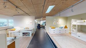 Virtuelt showroom start view