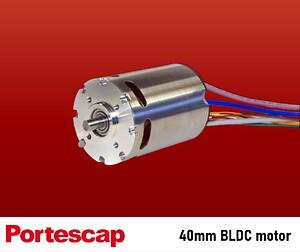 40mm BLDC motor fra Portescap