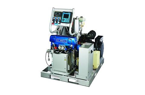 Graco Reactor e30 i/E-XP2 i 2-komponent pumpe fra Norclean AS